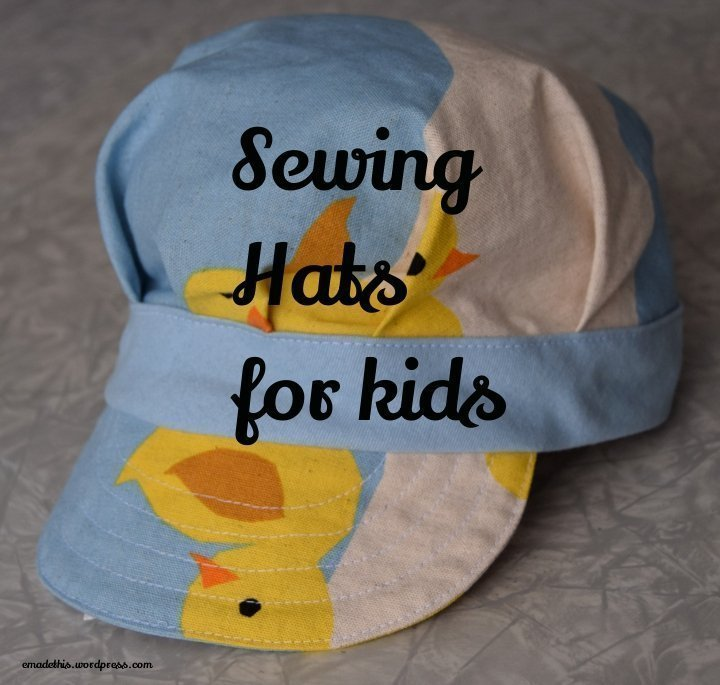 sewing hats for kids: Elizabeth Made This
