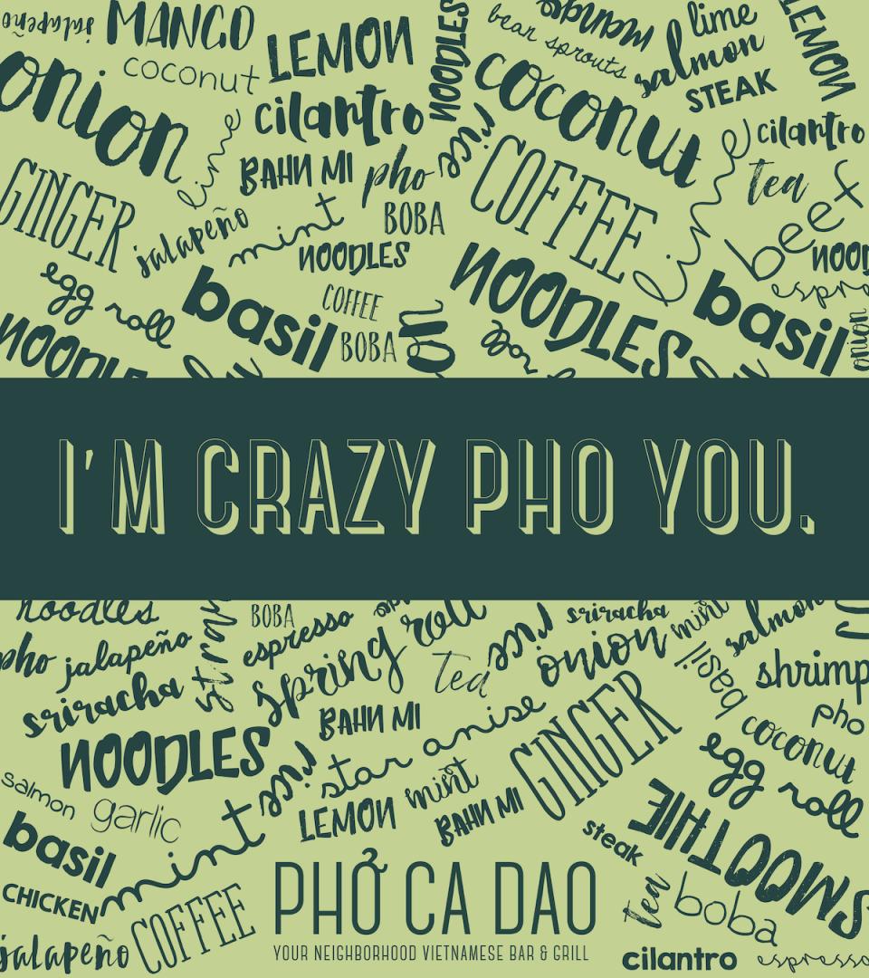 Crazy Pho You 32x36 -01