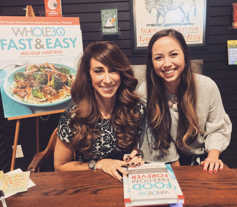 Whole30 Book Signing Event in Nashville, TN