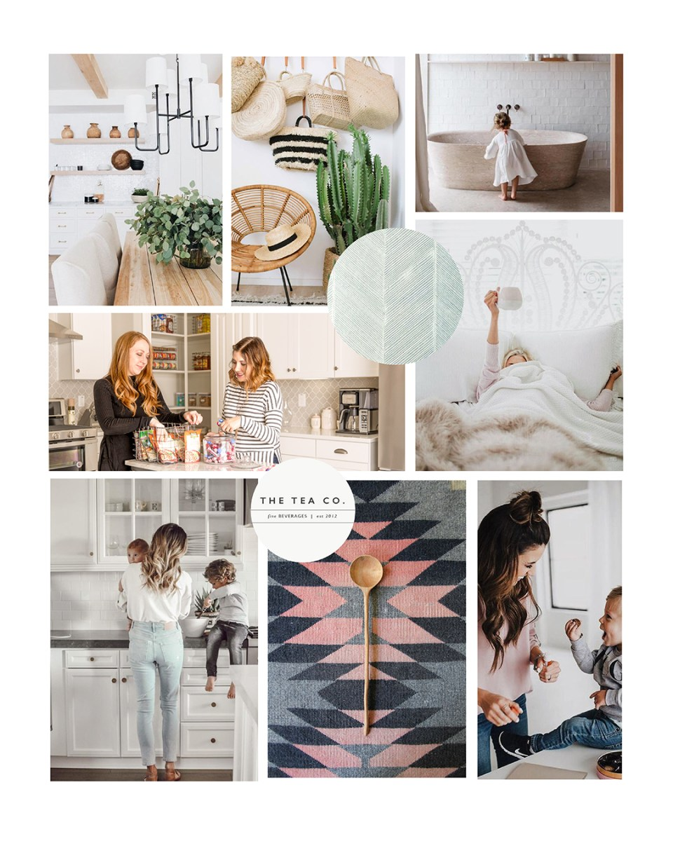 Mood Board for The Tidy Cottage - rustic, homemade, chic, sophisticated