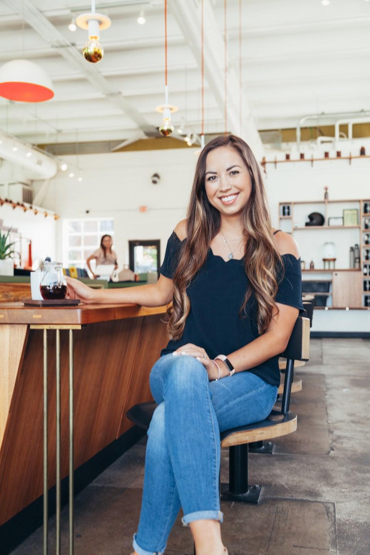 Barista Palor Photoshoot - Coffee shop photoshoot ideas business - Elizabeth McCravy Designs