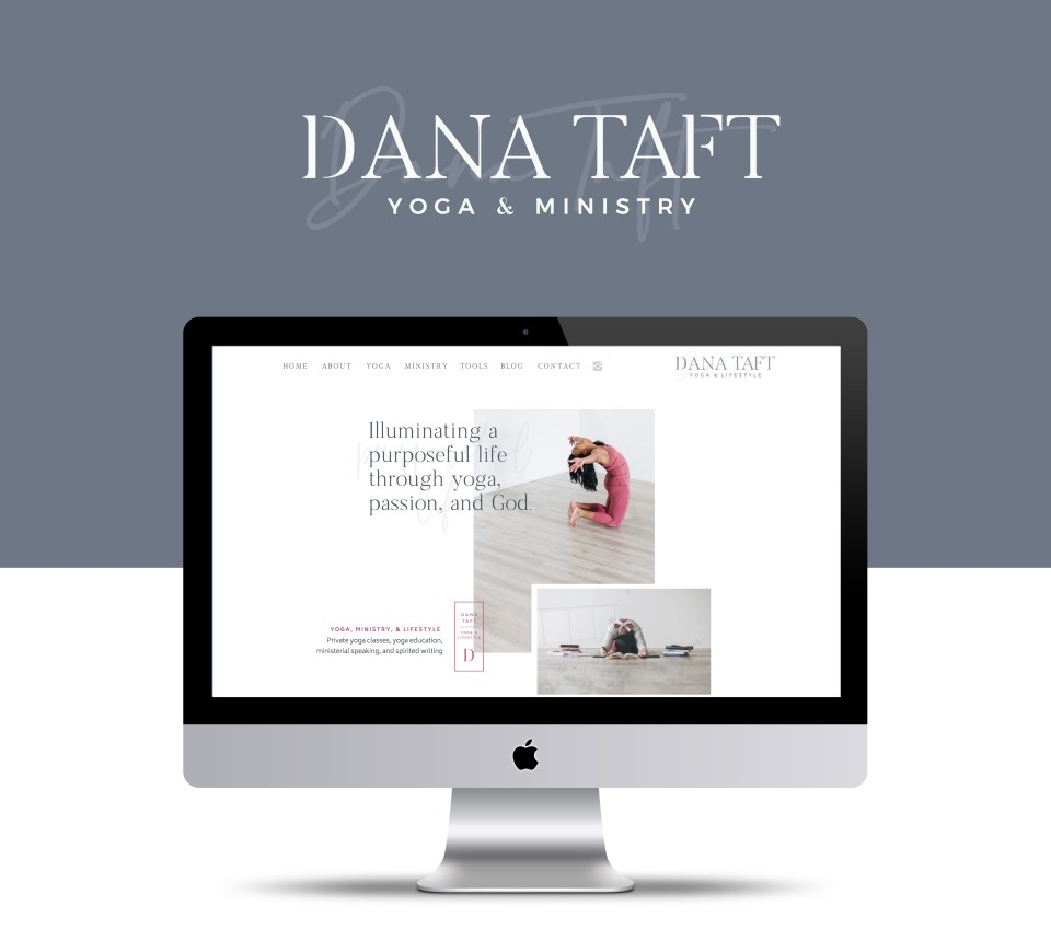 Yoga Teacher Website on Showit5