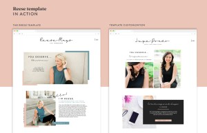 These website templates are versatile, easy to use, and totally uniquely you! Beautiful life coach website templates on the Showit5 platform! This template is excellent for coaches, consultants, educators, and personal brand businesses.