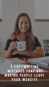 3 copywriting mistakes that are making people leave your website, and how to fix them. Your website IS your business' digital home, and for online-based businesses like myself, it is your business' ONLY home. This matters. So, in this episode I'm diving into why people might not want to stay on your website. We are focusing on the copywriting mistakes you might be making that make people click the exit button. And, I'm not just telling you the mistakes, I'm offering solutions too! So, let's explore how we can improve your website copy to keep people engaged. - Elizabeth McCravy - Breakthrough Brand Podcast
