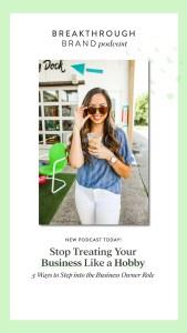 Treating Your Business Like a Hobby - Elizabeth McCravy - Breakthrough Brand