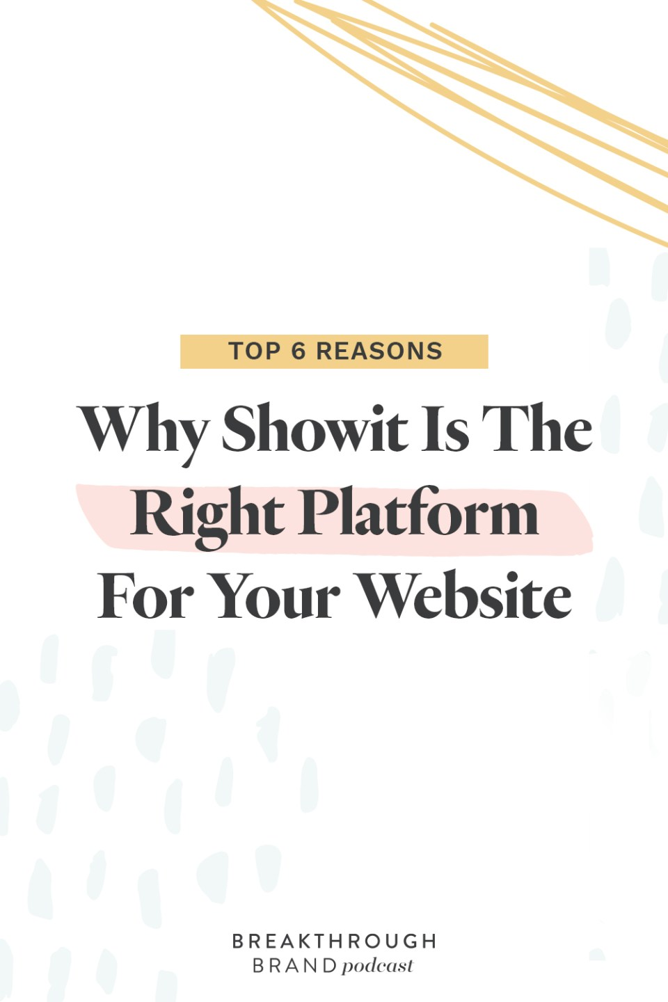 Is Showit the right platform for you? Find out now!