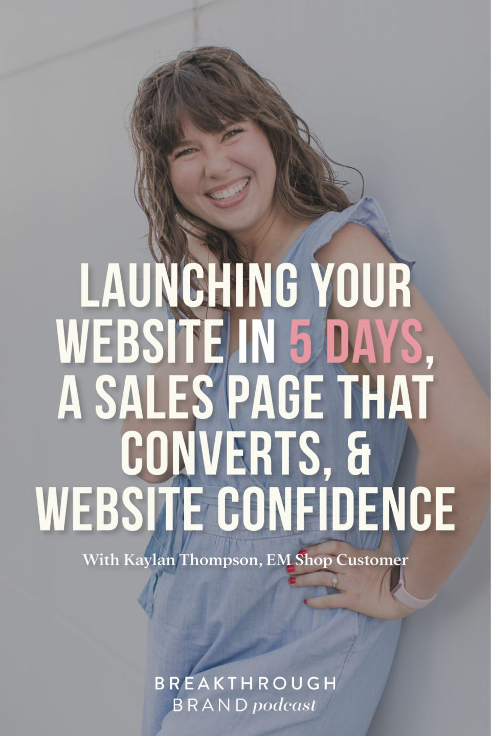 Check out Kaylan Thompson's converting sales page on the Joy To Lead website!
