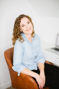 Brittany McBean the conversion copywriting pro on the Breakthrough Brand Podcast.