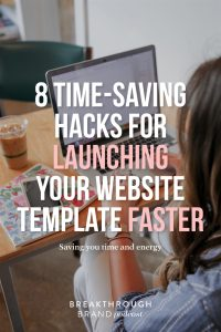 Learn time saving hacks for launching your website template faster with Elizabeth McCravy.