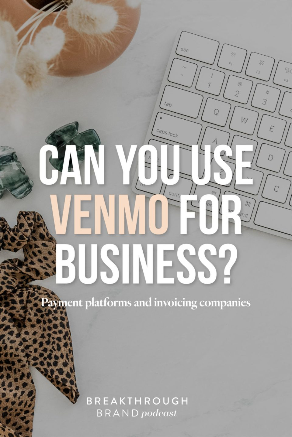 Don't use apps like Venmo and Cash App to avoid processing fees when accepting money in your business.