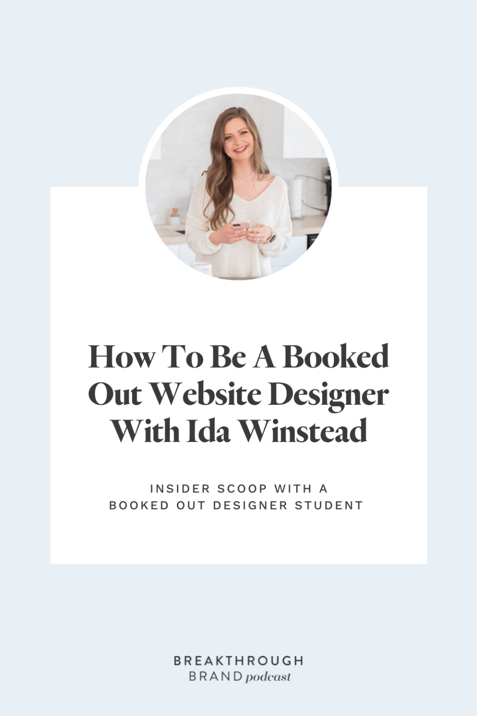 Peak inside the course experience with Ida Winstead, founding member of Booked Out Designer.