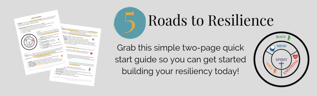 5 Roads to Resilience