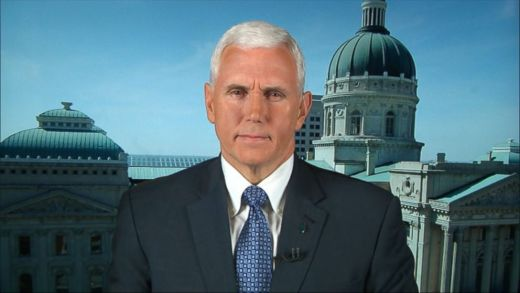 foto Mike Pence