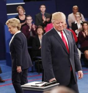 foto de Hillary vs Trump