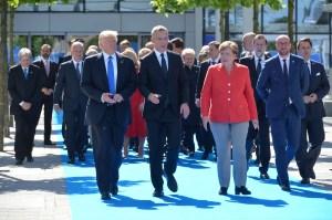 foto del grupo en la OTAN