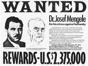 Foto de: se busca de Josef Mengele
