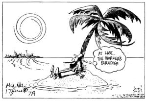 foto caricatura de Fidel