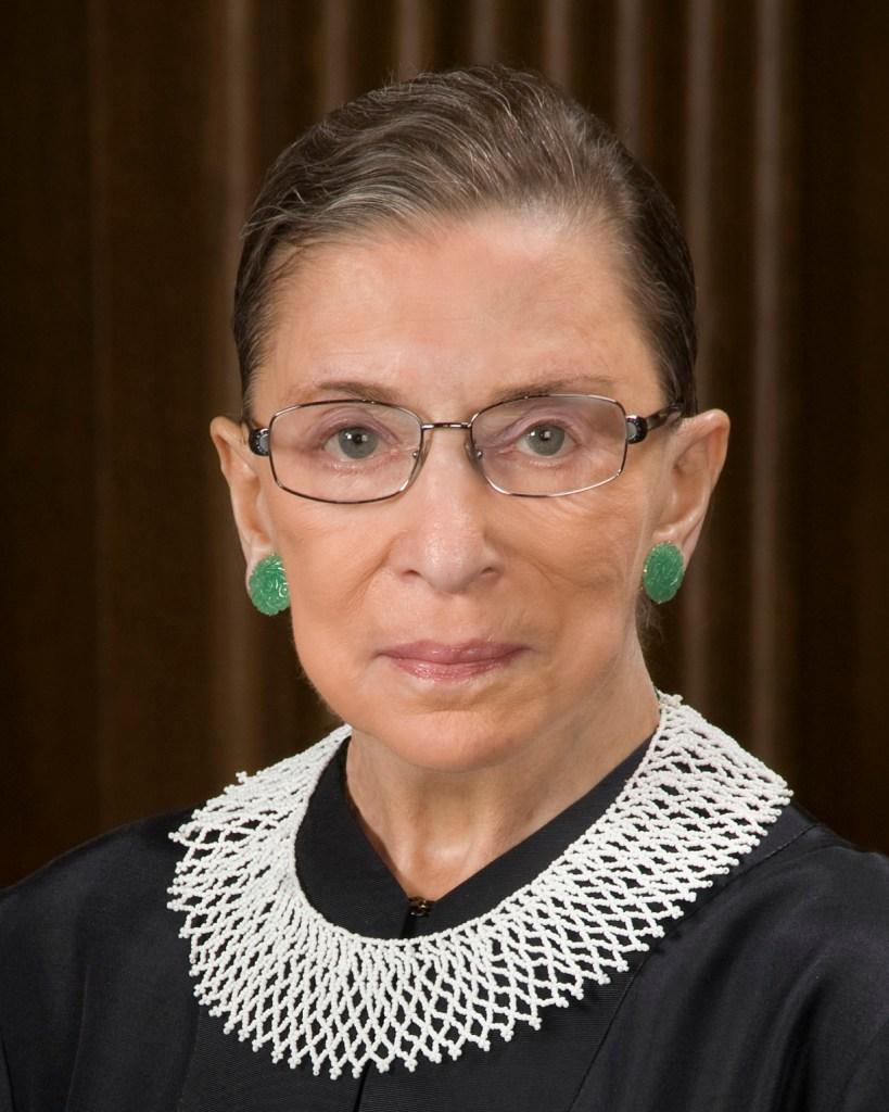 foto Ruth Bader Ginsburg Juez del Tribunal Supremo