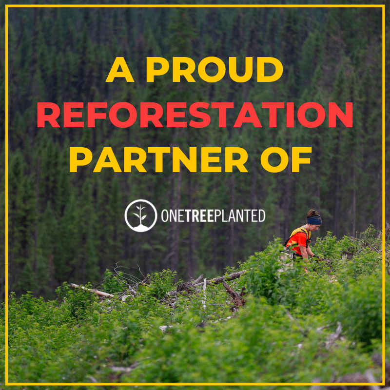 Elizabeth Ockford ltd is a proud reforestation partner of one tree planted