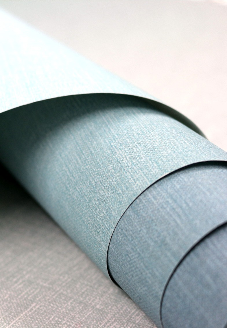 Horizon in the colourway pale blue close up showing a soft textured finish