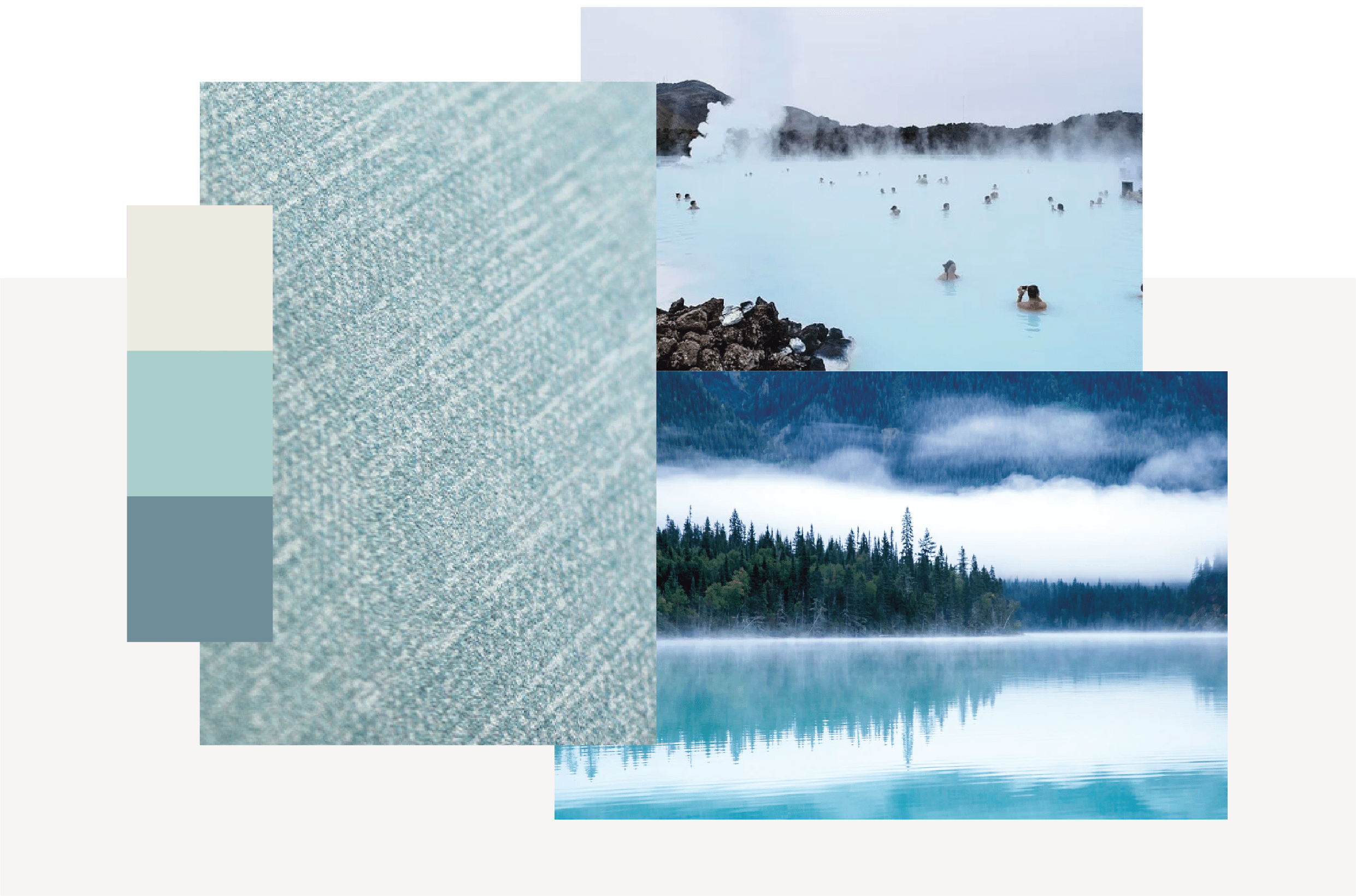 pale blue moodboard for Horizon