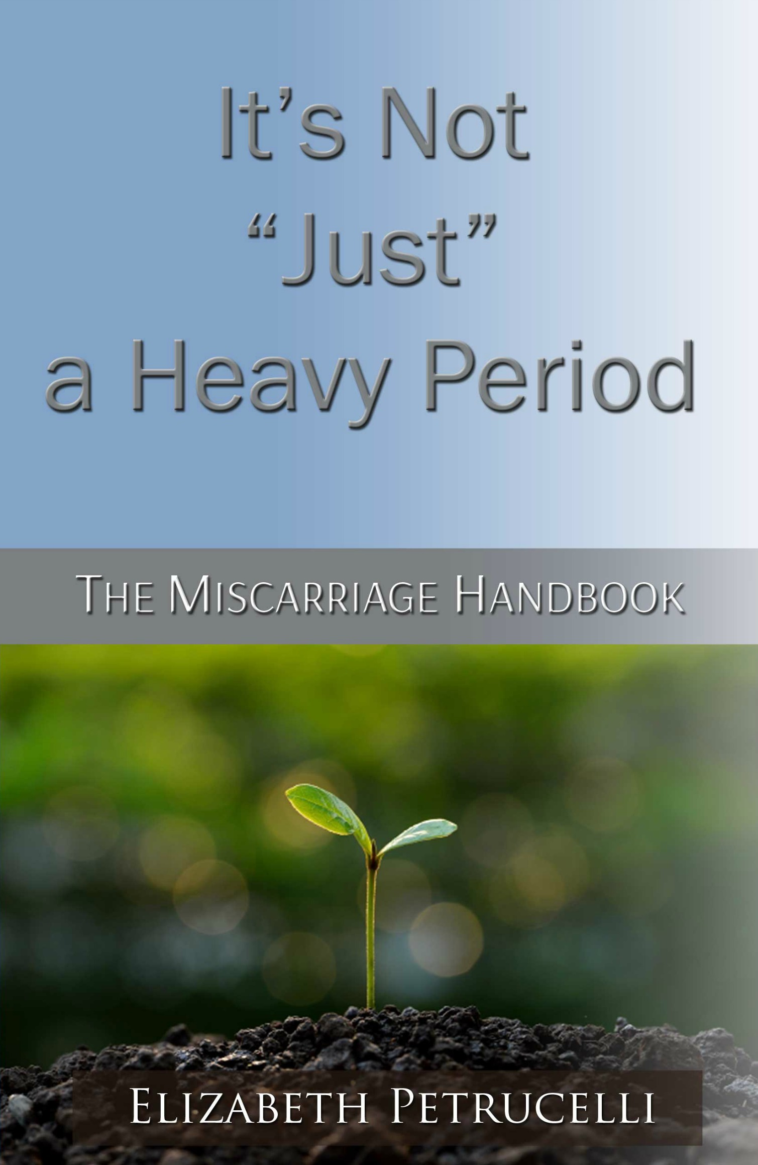 "It's Not ""Just"" a Heavy Period; The Miscarriage Handbook"