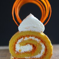 Carrot Soufflé Swiss Roll