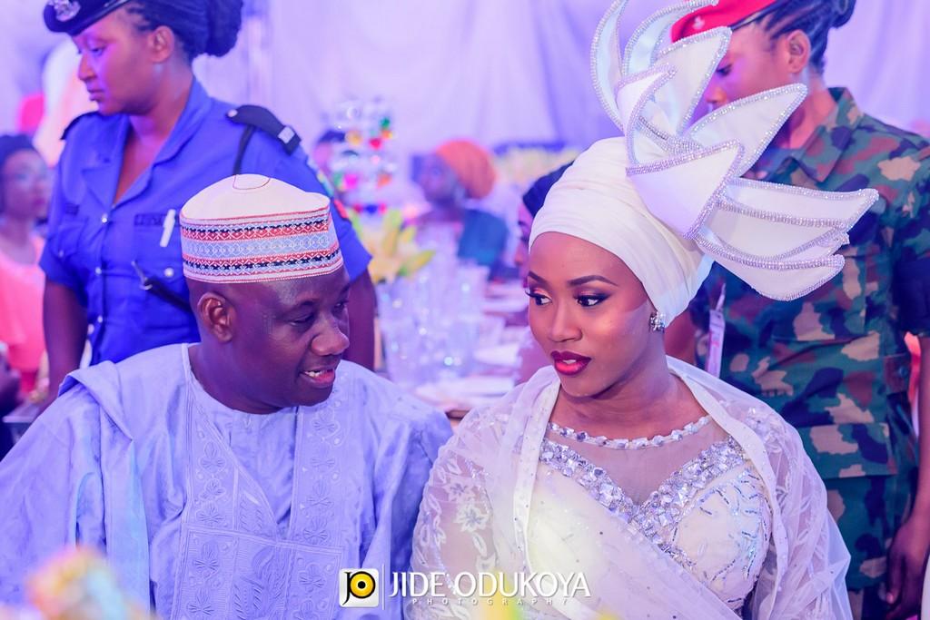 Halima Babangida & Auwal Abdullahi's Luxe Wedding Dinner in Minna   Elizabeth R Events