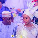 Halima Babangida & Auwal Abdullahi's Luxe Wedding Dinner in Minna | Elizabeth R Events