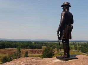 General Warren of the Union army recognized the strategic significance of Little Round Top and ordered his soldiers to defend it.