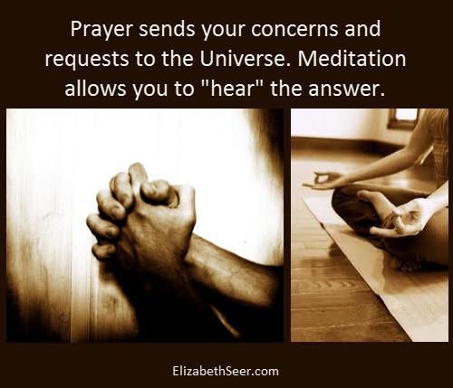 Prayer & Meditation - Elizabeth Seer