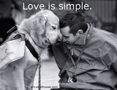 Dog Lesson 4: Love is Simple