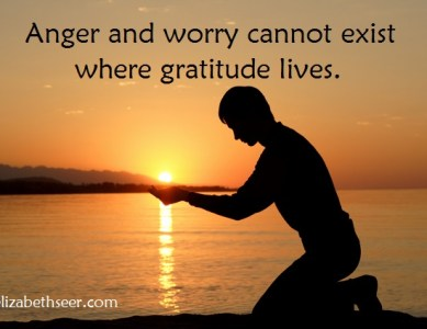 Worried or Angry? Be Grateful!