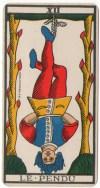 Hanged Man from Tarot de Marseille