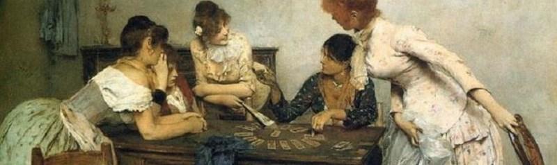 """""""la Chiromante"""" by Ettore Tito 1986"""