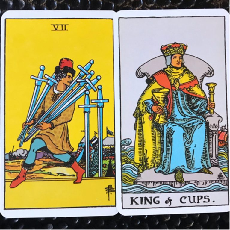 Aquarius: 7of Swords & The King of Cups (February 10-March 10)