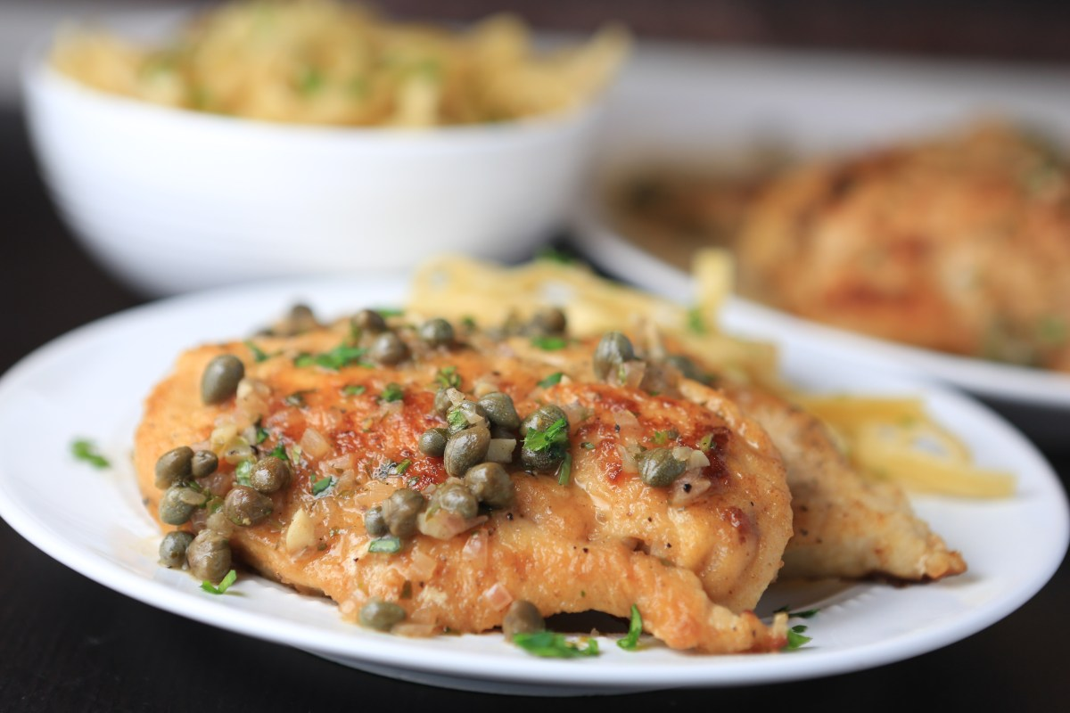Chicken Piccata & Announcement