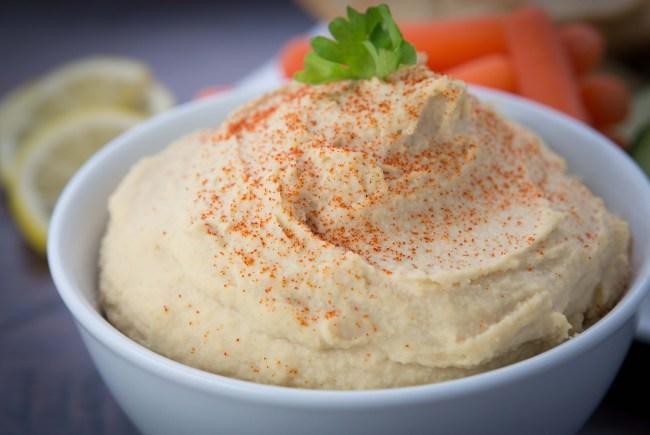 Vitamix Hummus