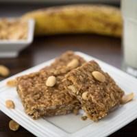 Oatmeal Peanut Energy Bars