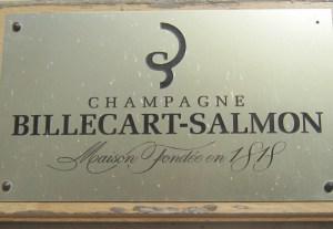 Door Sign at Champagne Billecart-Salmon
