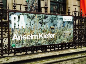 Anselm Kiefer Exhibition at RA