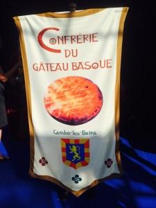 Flag of the Confrérie du Gateau Basque
