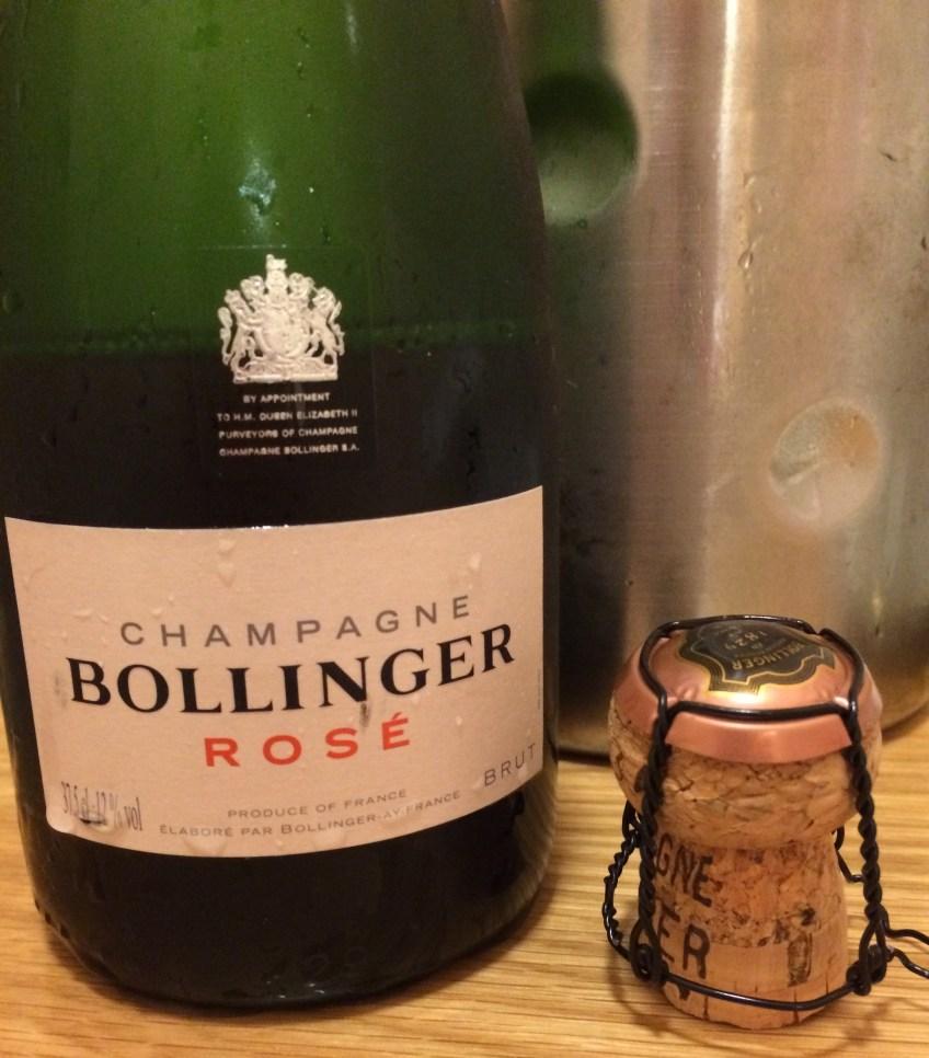 1/2 Bot of Bolly - Rosé