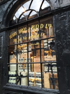 Berry Bros and Rudd - wine merchants in St James's since the 17th century