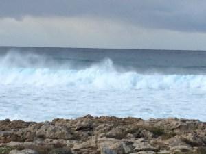 Aphrodite's sea foam?