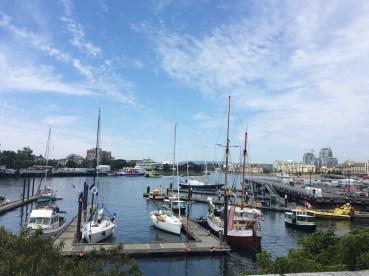 Inner harbour, Victoria