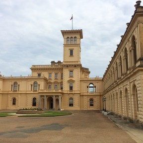 One of the façades of Osborne House, East Cowes