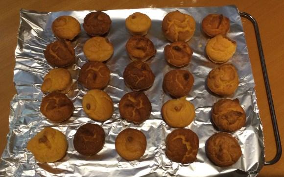 Clementine mini cakes