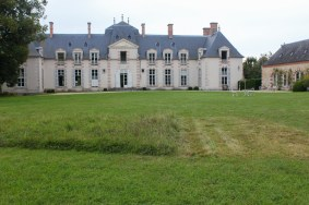 Back of chateau