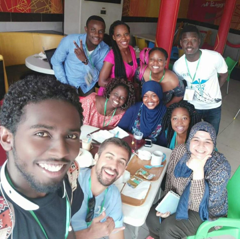 IFMSA Trainers Selfie GBV Training Selfie